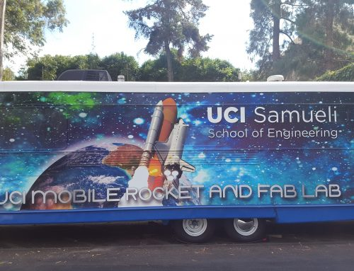 UCI Mobile Rocket and FAB Lab Completes Summer Adventures