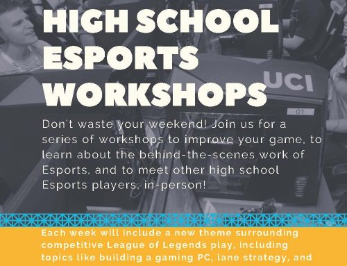 Esports Workshops for OC Students